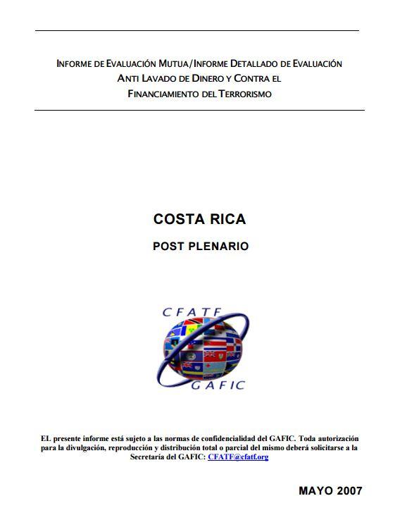 Costa Rica 3ra Ronda 2007